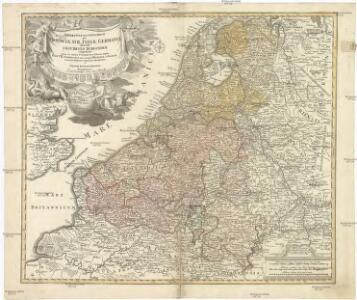 TABULA GENERALIS TOTIUS BELGII qua PROVINCIAE XVII. INFER. GERMANIAE olim sub S.R.I. CIRCULO BURGUNDIAE