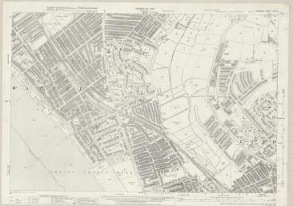 Lancashire XCIX.9 (includes: Ford; Great Crosby; Litherland; Seaforth; Waterloo) - 25 Inch Map