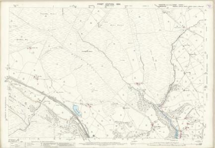 Yorkshire CCXXIX.1 (includes: Cliviger; Todmorden) - 25 Inch Map