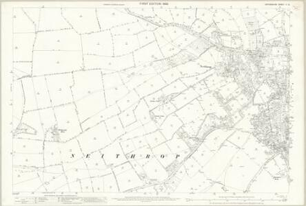 Oxfordshire V.12 (includes: Banbury; Drayton; North Newington) - 25 Inch Map