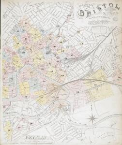 Insurance Plan of Bristol Vol. I & II: Key Plan