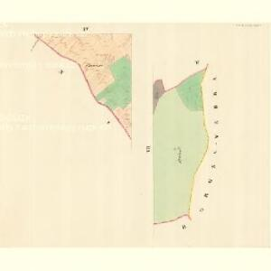 Hrozna Lhotta - m0909-1-004 - Kaiserpflichtexemplar der Landkarten des stabilen Katasters