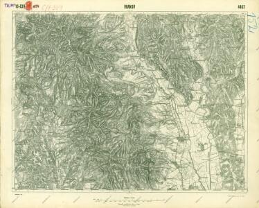 III. vojenské mapování 4467