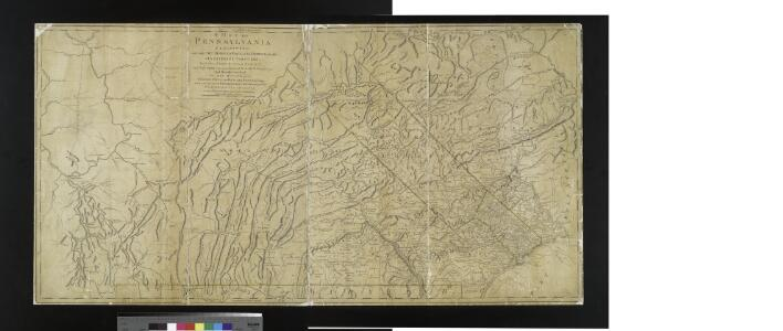 A map of Pennsylvania exhibiting not only the improved parts of that Province, but also its extensive frontiers : laid down from actual surveys and chiefly from the late map of W. Scull published in 1770 : and humbly inscribed to the Honourable Thomas Pe