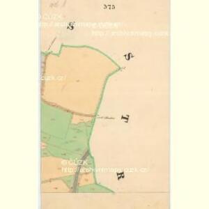 Gross Umlowitz - c5466-1-005 - Kaiserpflichtexemplar der Landkarten des stabilen Katasters