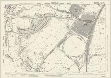 Warwickshire XIXA.14 (includes: Birmingham; Bromsgrove; Cofton Hackett) - 25 Inch Map