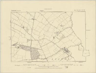 Northamptonshire XIX.NW - OS Six-Inch Map