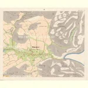 Dittersbach - c2872-1-008 - Kaiserpflichtexemplar der Landkarten des stabilen Katasters