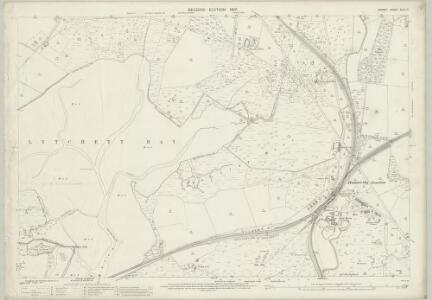 Dorset XLIII.11 (includes: Lytchett Minster; Poole; Wareham St Martin) - 25 Inch Map