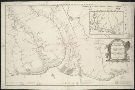 Carte generale et particulier de la colonie d'Essequebe & Demerarie situee dans la Guiane en Amerique