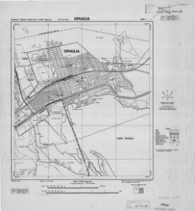 Ismailia [Town plan of] (1955)