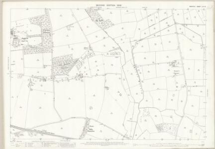 Norfolk LIX.12 (includes: Holme Hale; Necton; North Pickenham; Sporle With Palgrave) - 25 Inch Map