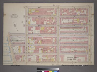 Plate 7, Part of Section 3: [Bounded by W. 26th Street, Ninth Avenue, W. 20th Street, 13th Street, W. 23rd Street and Eleventh Avenue.]
