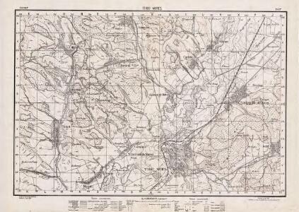 Lambert-Cholesky sheet 3467 (Târgu Mureş)