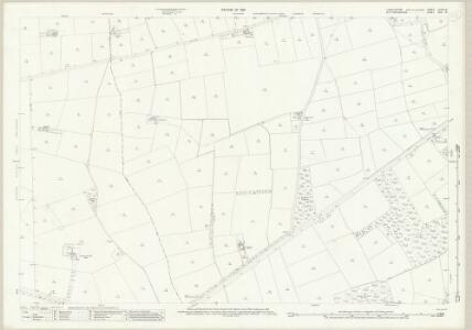 Lincolnshire LXXVII.14 (includes: North Collingham; Norton Disney; Swinderby; Thurlby) - 25 Inch Map