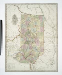 A map of the canals & rail roads of Pennsylvania and New Jersey, and the adjoining states / by H.S. Tanner; engraved by H.S. Tanner & assistants.