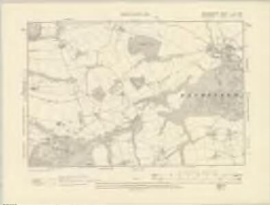 Herefordshire III.NW - OS Six-Inch Map