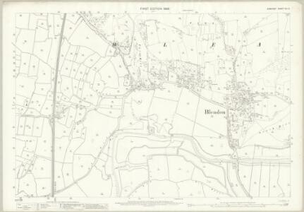 Somerset XVI.12 (includes: Bleadon; Lympsham; Weston Super Mare) - 25 Inch Map