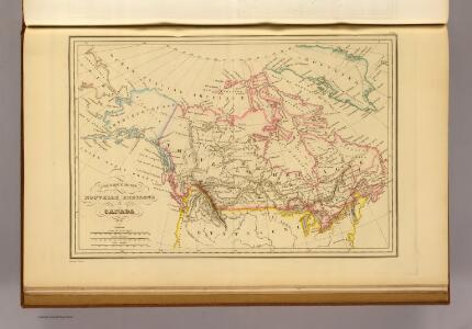Amerique Russe, Nouvelle Bretagne et Canada.