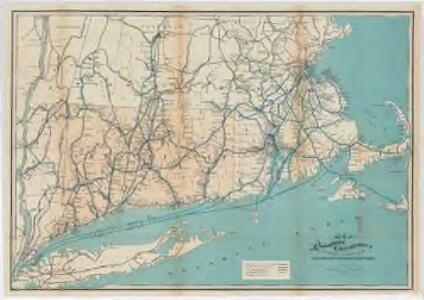 Map of the railroads of Connecticut : to accompany the report of the railroad commissioners