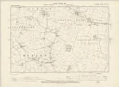Cheshire XLVII.NE - OS Six-Inch Map