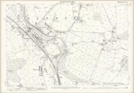 Derbyshire XVIII.6 (includes: Chesterfield; Dronfield; Unstone) - 25 Inch Map