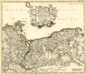 Ducatus Pomeraniae Tabula Generalis in qua sunt Ducatus Pomeraniae, Stettinensis, Cassubiae, Vandaliae et Bardensis, Principatus Rugiae ac Insulae, Comitatus Guskoviensis et Dominia Louwenburgense Wolgastense et Butoviense