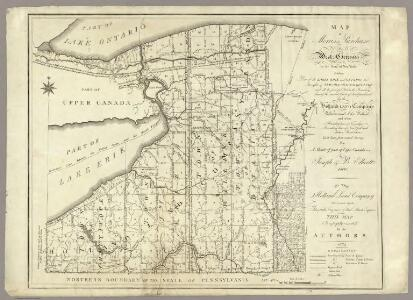 Map of Morris's Purchase or West Geneseo In the State of New York.
