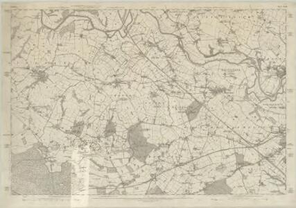 Cheshire XXVIII - OS Six-Inch Map