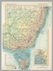 Australia - South-East.  Pergamon World Atlas.