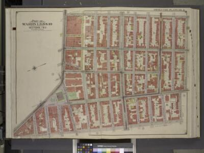 Brooklyn, Vol. 1, Double Page Plate No. 6; Part of    Wards 1, 3, 6 & 10, Sections 1 & 2; [Map bounded by Hoyt St., Warren St.;        Including  Clinton St., Fulton St.]