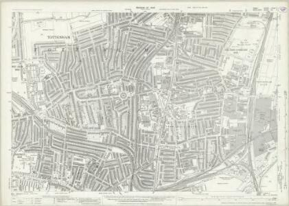 Essex (New Series 1913-) n LXXVII.7 (includes: Tottenham) - 25 Inch Map