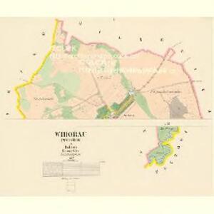 Wihořau (Wihařow) - c0174-1-001 - Kaiserpflichtexemplar der Landkarten des stabilen Katasters