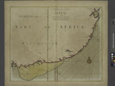 A draught of the south part of AFRICA from cape Bona Esperance to Delagoa