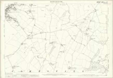 Derbyshire II.13 (includes: Bredbury and Romiley; Hyde) - 25 Inch Map