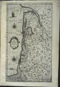Carte du Bovrdelois, du pais de Medoc, et de la prevosté de Born