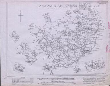 Slovenia & NW Croatia, MDR Misc 8802