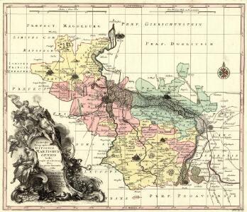 Delineatio Geographica Ditionis Martisburgensis hodie regiis et electoralibus auspiciis florentis edita