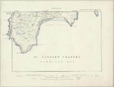 Caernarvonshire XLVI.NE - OS Six-Inch Map