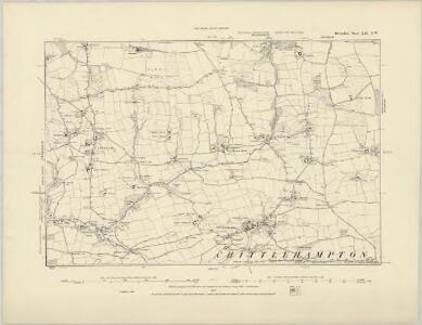 Devonshire XXI.SW - OS Six-Inch Map