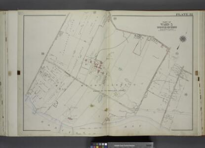 Part of Ward 5. [Map bound by Amboy Road, Bedell St   (Seguine RD). Sharrot Ave (Pleasant Plains RD), Excelsior Ave, Finley Ave,       Woodvale Ave, Bulkhead Line Page St (Beach St)]