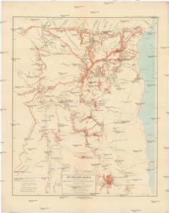 Die südliche Galala mit dem nördlichen Theil der krystallinische Küstengebirge am Rothen Meer
