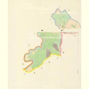 Hodowitz - c1922-1-008 - Kaiserpflichtexemplar der Landkarten des stabilen Katasters