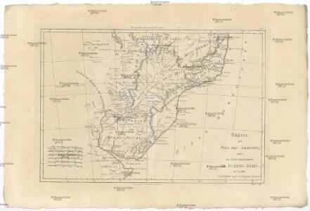 Brésil et pays des Amazones, avec le gouvernement de Buenos-Aires