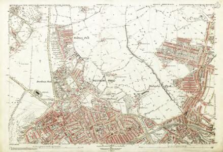 Gloucestershire LXXI.12 (includes: Bristol) - 25 Inch Map