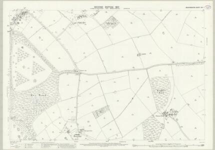 Bedfordshire XXV.1 (includes: Eversholt; Husborne Crawley; Ridgmont; Steppingley; Woburn) - 25 Inch Map