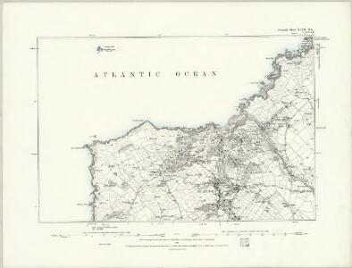 Cornwall XLVI.SW - OS Six-Inch Map