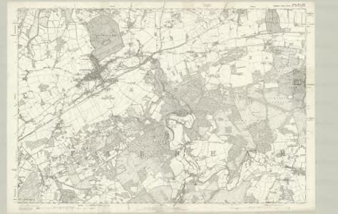 Surrey XXX - OS Six-Inch Map