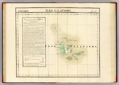 Iles Galapagos. Oceanique no. 17.