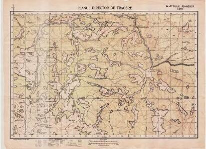 Lambert-Cholesky sheet 4363 (Muntele Şandor)